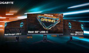 GIGABYTE Complete Gaming Monitor Lineup Received High Praise for Stellar Performance (PRNewsfoto/GIGABYTE)